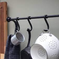 kitchen pot rack pot and pan rack wall