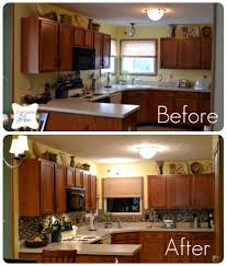 how to clean kitchen cabinets before painting fresh kitchen foxy before and after kitchen remodels for