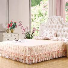 bed skirts for sale.  Bed Skirted Bedspread King Bed Skirtks Lace Floral Skirts Sale 180x200cm  Full One Piece Online With  Intended For E