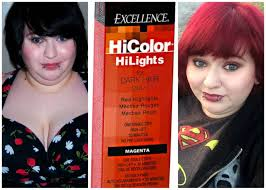 loreal highlights for dark hair red