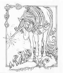 Free Unicorn Fairy Coloring Pages 45 Gianfredanet