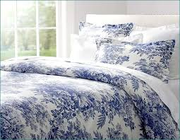 blue toile sheet set