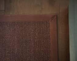 dark brown sisal rug