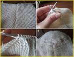 Вязание с переснятыми петлями