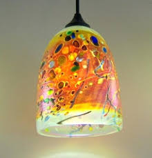 art glass lighting fixtures. Art Glass Pendant Lights Modern Artist Fixtures Lighting N