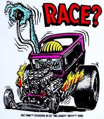 amazon com rat fink race hot rod decal sticker automotive