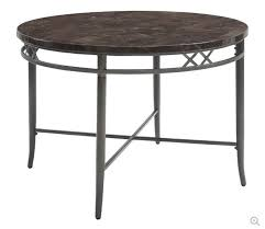 faux marble dark gray acme furniture 70300