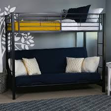 couch that turns into a bunk bed amazon. Exellent Into Amazoncom Walker Edison TwinOverFuton Metal Bunk Bed Black Kitchen U0026  Dining On Couch That Turns Into A Bed Amazon