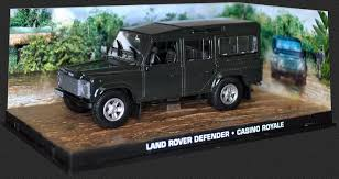Land Rover Defender 110 From James Bond In Dark Green (1:43 Scale By