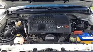 Toyota Hilux D4D diesel knock 15,000kms later - YouTube