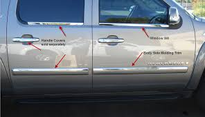 bo package window sills and 1 inch body side molding trim