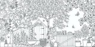 Secret Garden Coloring Pages Duhovkainfo