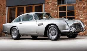 A James Bond Aston Martin Db5 Is For Sale With Working Gadgets