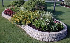 garden borders and edging. Concrete Border Landscape Edging Ideas Garden Borders And O