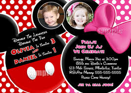 mickey and minnie invitation templates mickey and minnie mouse invitation template