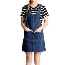 Low Cost Womens Girls Cute Casual Short Suspender Skirt