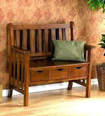 indoor bench with back wooden design storage wood benches for w b white seat nz backs