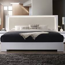 platform beds with lights. Contemporary With Annette Platform Bed In Beds With Lights L