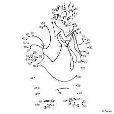 Unisci I Puntini Cartoni Animati Disney Disegni Da Colorare E