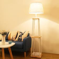 sensational ideas floor lamp with shelf 15