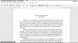Featured Documents Good Comparison Contrast Essay Topics