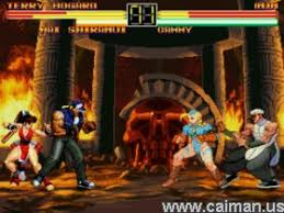 caiman free games street fighter vs fatal fury by wounami