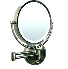 wall mounted cosmetic mirror with light cosmetic mirror with lights wall mounted makeup mirror with light