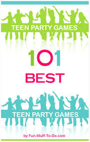 Outdoor teen party games