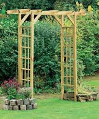 Small Picture 25 best WOODEN ARCHES IDEAS images on Pinterest Garden arches