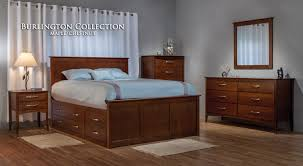 Solid Wood Furniture Bedroom Furniture Cherry Furniture - Burlington bedroom furniture