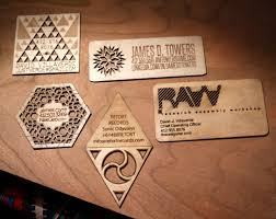 wooden business cards hand crafted wooden business cards by naked geometry