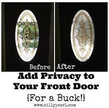 glass front door oval window