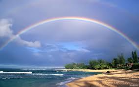 Wallpapers Nature Rainbow Coast
