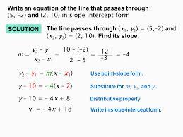 19 write an equation