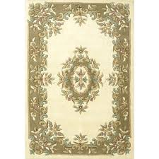 aubusson wool rugs chinese for royal traditional rug beige
