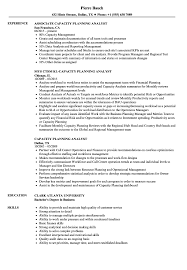 Capacity Planning Analyst Resume Samples Velvet Jobs