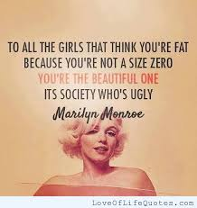 Wwwlife Quotescom Impressive To All The Girls That Think You're Fat Because You're Not A Size