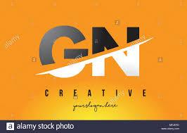 Firma Logo Design Gn G N Letter Modern Logo Design With Swoosh Cutting The