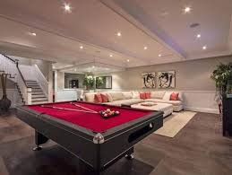 rug under pool table vinyl laminate flooring for basement with white upholstery sofa square table on