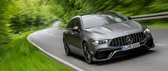 Big power is easy to come by in 2020. The New Mercedes Amg Cla 45 4matic Shooting Brake