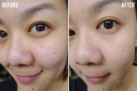 bare minerals before and after. bare minerals bareskin pure brightening serum foundation before and after m