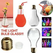 Light Bulb Drink Bottle Details About Luminescence Light Bulb Beverage Bottle Bulb Shaped Bottle Drink Cup Party Decor