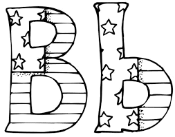 Unique Letter B Coloring Pages Collection Printable Coloring Sheet