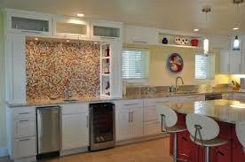 glass tile mosaic backsplash