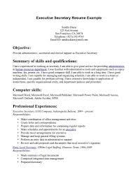 examples of administrative assistant resume chronological resume executive administrative assistant resume sample executive resume objective examples clerical assistant resume examples medical office assistant