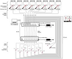 csi 8h8cv2ir 8×8 hdmi over cat5e 6 7 point to point transmitter csi 8h8cv2ir schematic
