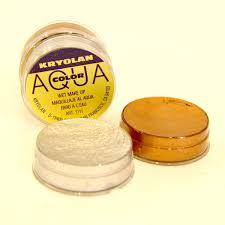 kryolan aquacolor metallic wet makeup 8ml montreal