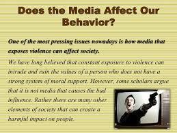 media violence essay 3