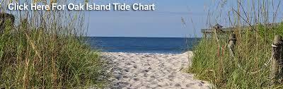 Tide Chart Wilmington North Carolina Oak Island Tide Chart Oak Island Nc Vacation Nc Beaches