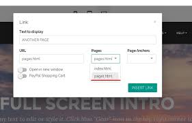 Can't synchronize links in web builder program
